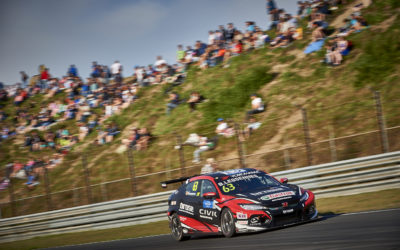2018  EVENT:  WTCR Race of Netherlands TRACK:  Circuit Park Zandvoort TEAM:  Boutsen Ginion Racing CAR:  Honda Civic Type R TCR DRIVER:  Benjamin Lessennes
